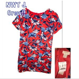 • J. CREW   NWT   Hawaiian Mini Dress •